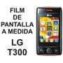 Film Protector De Pantalla Tricapa A Medida De Lg T300