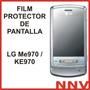 Film Protector De Pantalla A Medida Lg Me970 / Ke970 - Nnv