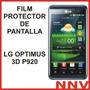 Film Protector De Pantalla Lg Optimus 3d P920 - Nnv