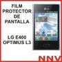 Film Protector De Pantalla Lg E400 Optimus L3 - Nnv