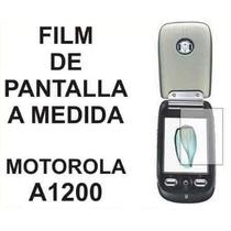 Film Protector De Pantalla A Medida De Motorola A1200 - Nnv