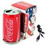 Parlante Portátil Lata De Coca Cola Usb Fm Sd Dia Del Niño