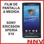 Film Protector De Pantalla Sony Ericsson Xperia X10 - Nnv