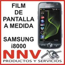 Film Protector De Pantalla A Medida Para Samsung I8000 - Nnv