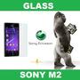 Gorila Glass Templado Vidrio Sony M2 Ciudadela Liniers