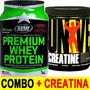 Proteina Premium Whey Star 1k + Creatina 300 Gr Universal