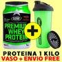 Premium Whey Star 1 Kg + Vaso Y Envio Free + Dieta + Rutina