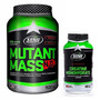 Mutant Mass N.o. 1,53 Kg. + Creatina 300 Grs. Star Nutrition