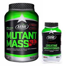 Mutant Mass N.o. 1,53 Kg. + Creatina 300 Grs. Star Nutrition
