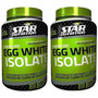 Egg White Isolate 2kg Clara De Huevo Chocolate Dieta Gratis