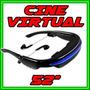 Sistema Virtual De Cine Privado. 52 Pulgadas. Imperdible!!!