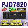 Proyector Viewsonic Pjd7820 7822 1080p Nativo 3000 Lum 3d