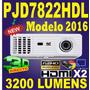 Proyector Viewsonic Pjd7822 Pjd7820 3200lum 3d Hdmi X2