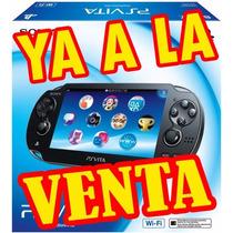 Playstation Vita Wi-fi + Juego De Regalo !! Super Oferta !!