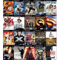 Juegos De Ps2 Play2 Playstation 2 Lote (100 Juegos)