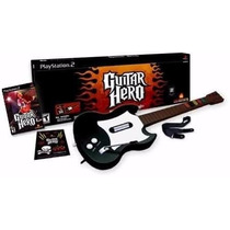 Guitarra Ps2 / Wii Guitar Hero Original