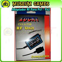 Adaptador Rf Por Antena Para Ps1 & Ps2 (local)