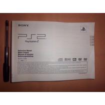 Manual De Usuario Play Station 2 - No Tiene En Español Envio