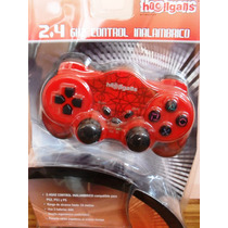 Joystick Play 2 Inalambrico Ps2,ps1,ps 2,4ghz Hooligans