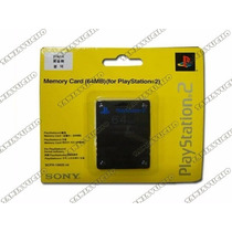 Memory Card 64mb Blister Corto Playstation 2 Ps2 Alta Calida
