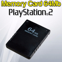 Memory Card 64mb Ps2 Playstation 2 - Blister Cerrado!