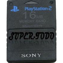 Memory Card 16 Mb Playstation 2 Sony Ps2 Garantía Envío Nuev