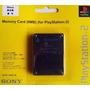 Memory Card Playstation 2 8 Mb Blister Cerrado