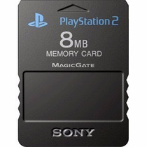 Memory Card Ps2 8mb Sellado 100% Nuevo