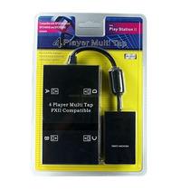 Multitap Ps2 Hasta 4 Jugadores Comp Dual Shock