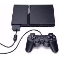 Playstation 2 Slim Con Garantia Chip - Joystick-memory 64mb