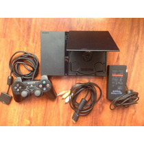 Playstation 2 Con 2 Joysticks 20 Juegos Impecable Estado