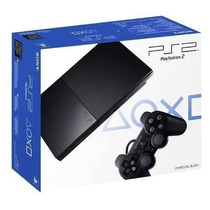 Playstation 2 Nuevas Slim Ps2 Play 2 Chipeada Sony Joystick