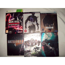 Lote Juegos Ps3/xbox360-collector Edition/steelbook-can/ven