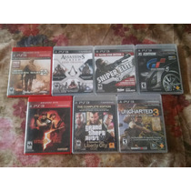Juegos Playstation 3 Excelente Estado