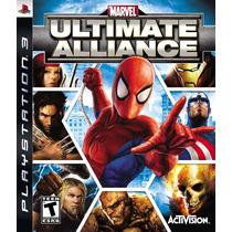 Marvel Ultimate Alliance Ps3 Tomo Usados Solocanje