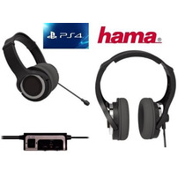 Headset Play4 Ps3 Microfono Play3 Ps4 Gamer Hama