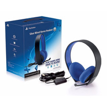 Auricular Headset Sony Con Cable Y Mic Para Ps3/ps4/vita/pc
