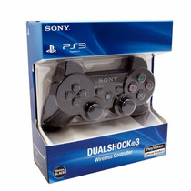 Sony Dualshock 3 Joystick Ps3 En Blister Sellado