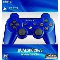 Joystick Ps3 Sony Azul Rojo Inalambrico Envio Avellaneda Cap