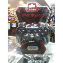 Joystick Inalambrico Seisa Bluetooth Recargable Ps3 Sj-903