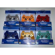 Joystick Ps3 (rojo, Azul, Negro, Blanco, Plateado Y Dorado)