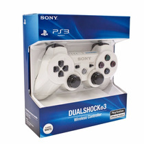 Sony Dualshock 3 Joystick Ps3 Blanco Original En Blister