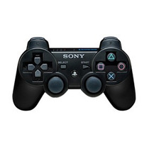 Joystick Sony Playstation 3 Dualshock 3 Ps3 Negro - Plateado