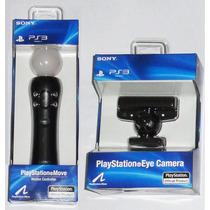 Ps3 Kit Move + Camara Nuevos Originales Sony ! Local !!!