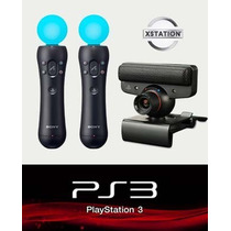 Kit Ps Move Ps3 Original En Caja Xstation