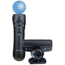Kit Move Sony Ps3 Combo + 1 Move + Camara Caballito