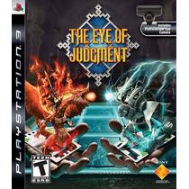 The Eye Of Judgment Ps3 Juego+cámara Ps3+base+cartas