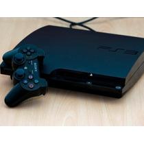 Ps3 Slim De 160gb Flasheada Con Joystick Y 7 Juegos Excelent