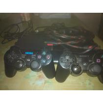 Playstation Tres Con 2 Joystick Y 3 Juegos