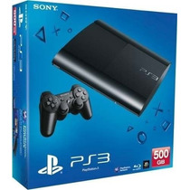 Sony Playstation 3 Ps3 500gb Ultra Slim-cuotas Sin Interes
